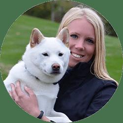 Dog trainer Elissa and Duke